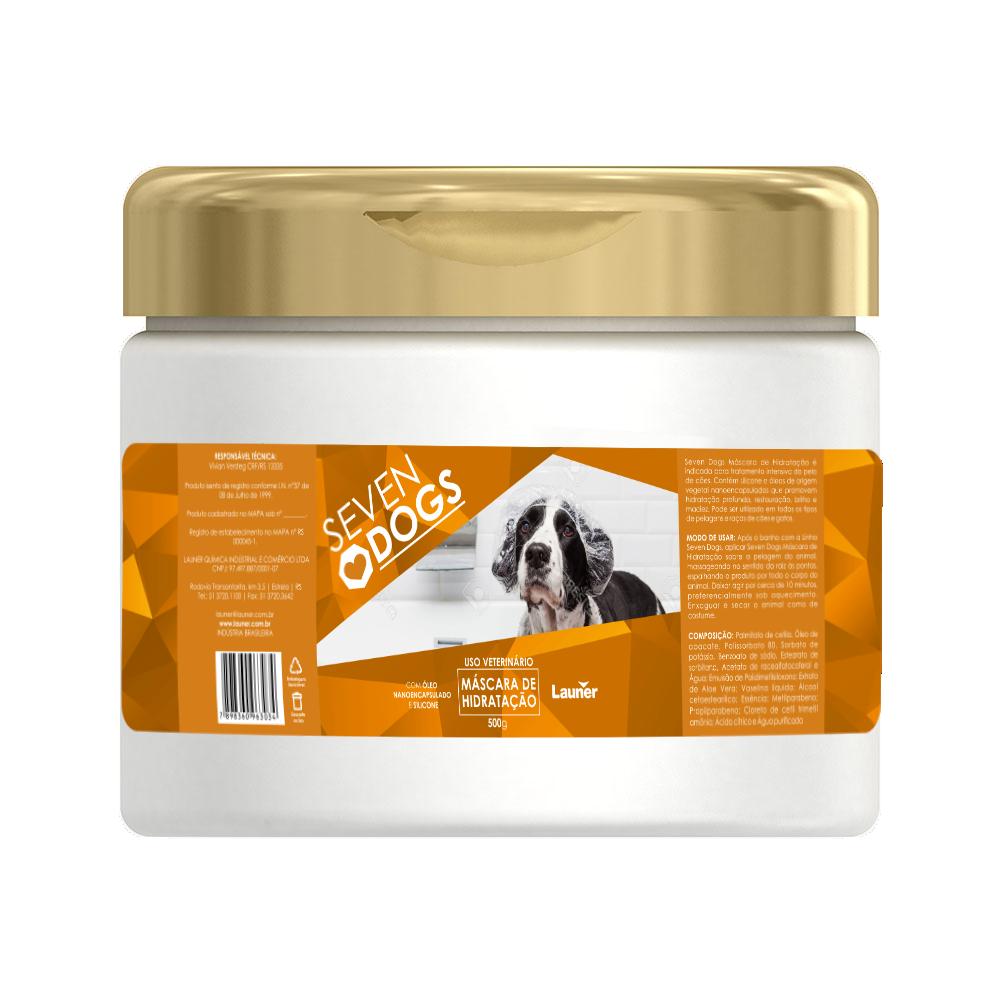 Mascara de Hidratação para cachorro  Seven Dogs 500 ml