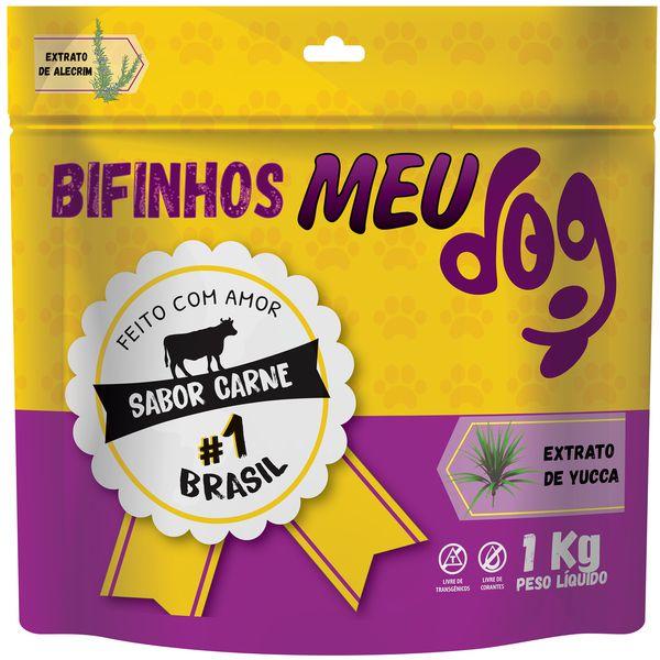 Petisco para cachorro  Bifinho Standard meu Dog 1 Kg  carne P&B