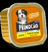 Petisco Cão Úmido Primocao Junior Patê de frango 300g