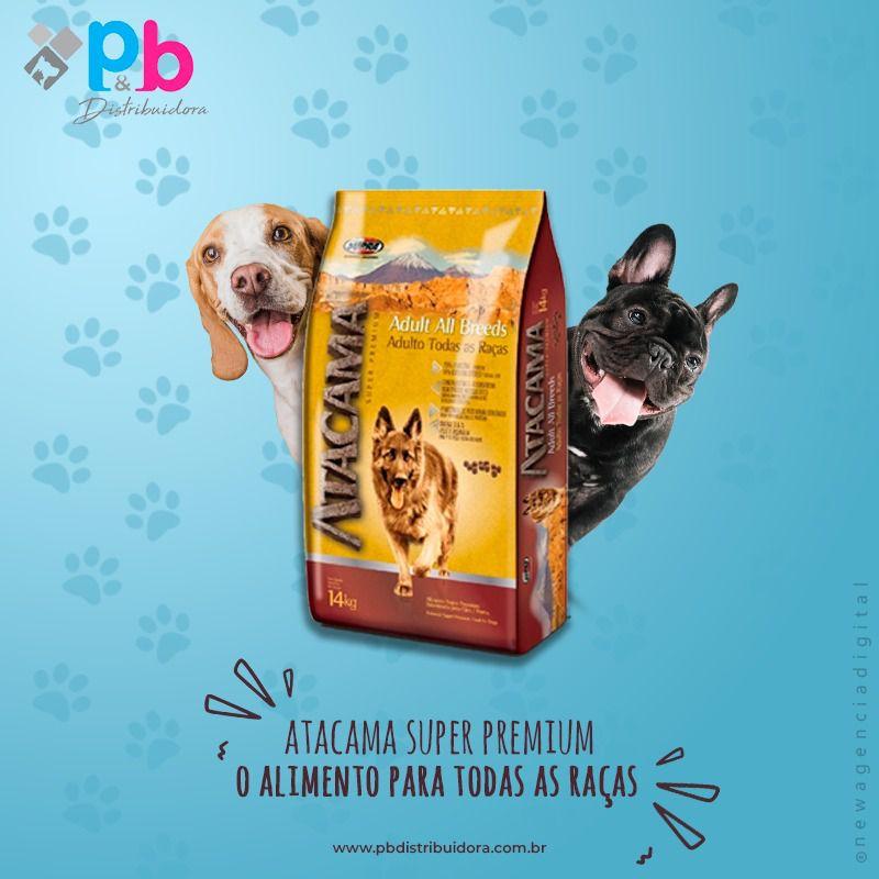 Ração Atacama Super Premium  Todas As Raças  20Kg P&B