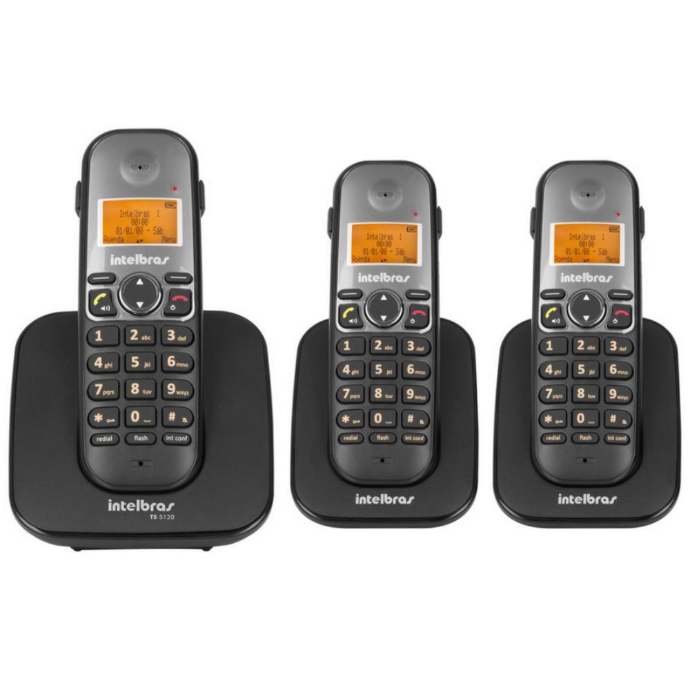 262602423 Telefone Sem Fio Intelbras TS 5120 Viva-Voz 1