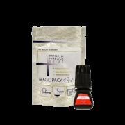 Cola Elite Hs-10 3ml Alongamento Cílios Premium Black Glue