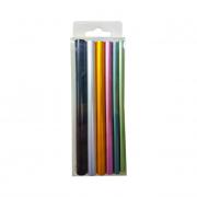 Conjunto de Tubos Coloridos Para Curvatura C em Unhas