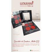Quarteto De Sombras Matte 3 Ludurana
