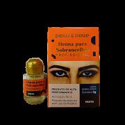 Della & Delle Henna Para Sobrancelha 3g - Preto