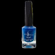Esmalte Azul Carimbo Piu Bella
