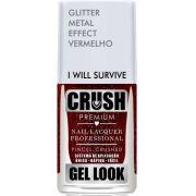 Esmalte Crush Efeito Gel Look I Will Survive