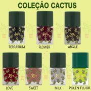 Esmalte latika Coleçao Cactus com 7 cores