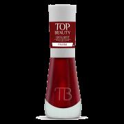 Esmalte Premium Cintiliante Top Beauty 9ml Paixão