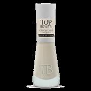 Esmalte Premium Cobertura Suave Top Beauty 9ml Bala de Coco