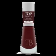 Esmalte Premium Cremoso Top Beauty 9ml Cabernet