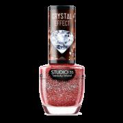 Esmalte Vegano Studio 35 Ruby Precioso Coleção Crystal Effect III 9ml