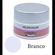 Gel Para Unhas De Gel Helen Color Silver Branco 20g