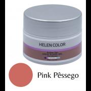 Gel Para Unhas De Gel Helen Color Silver - Pink Pêssego 20g