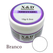 Gel Xed Branco - 15g - Alongamento - Unhas De Gel Led Uv
