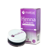 Henna Cream Makiaj Castanho Escuro