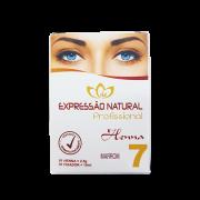Henna Expressão Natural Marrom Profissional + Fixador 2,5g