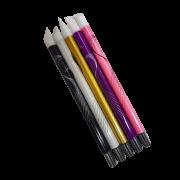 Kit 5 Pincéis de Silicone Decoração das Unhas em Gel