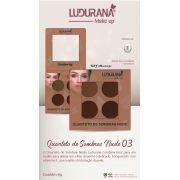 Quarteto De Sombra Ludurana Nude 3 - 4g