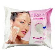 Ruby Rose Lenço Umedecido Removedor Maquiagem