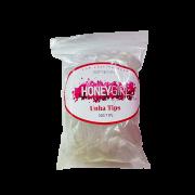 Tips Honey Girl Unha Sorriso Transparente com 500 Unidades Separados por Tamanho do 0 ao 9.