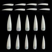 Tips Para Alongamento Stileto 100 unidades