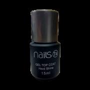 Top Coat Gel Nails T4 Hard Shine 15 ml