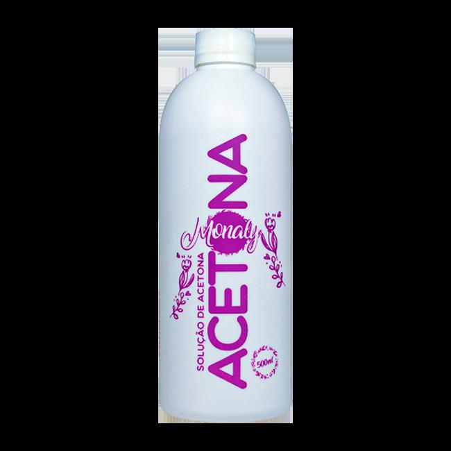 Acetona Monaly Solução de Acetona 500ml