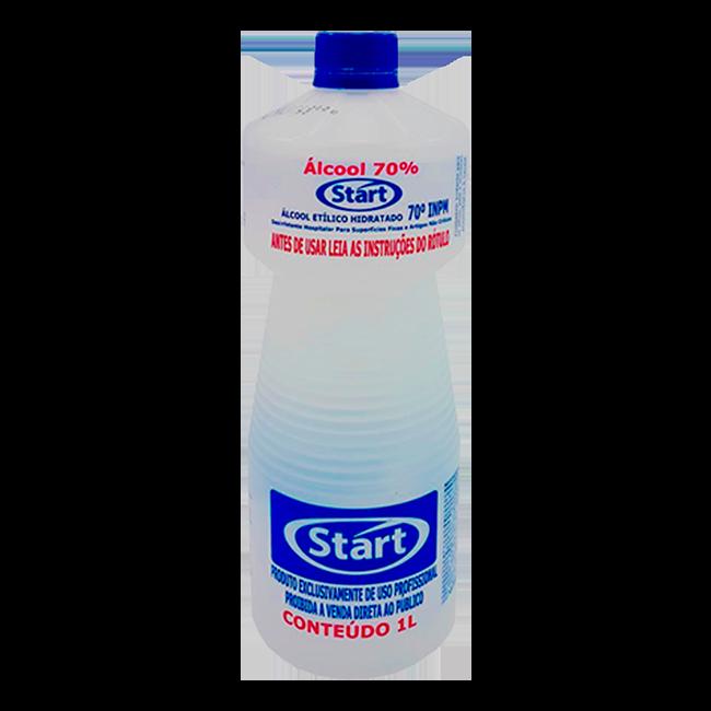 Álcool Hidratado 70% Start Química 1 Litro