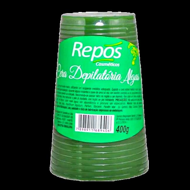 Cera Depilatória Repós Algas 400g