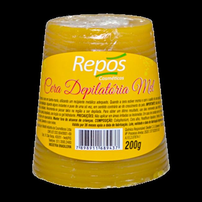 Cera Depilatória Repós Mel 200g