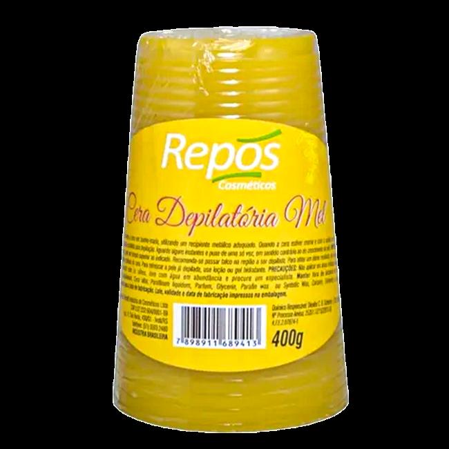 Cera Depilatória Repós Mel 400g