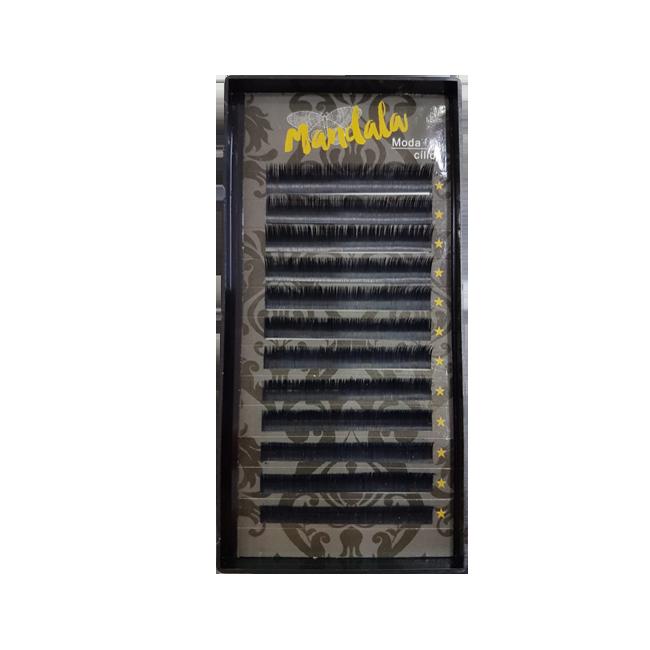 Cílios Fio A Fio Mandala Curvatura D 0.07 10 mm