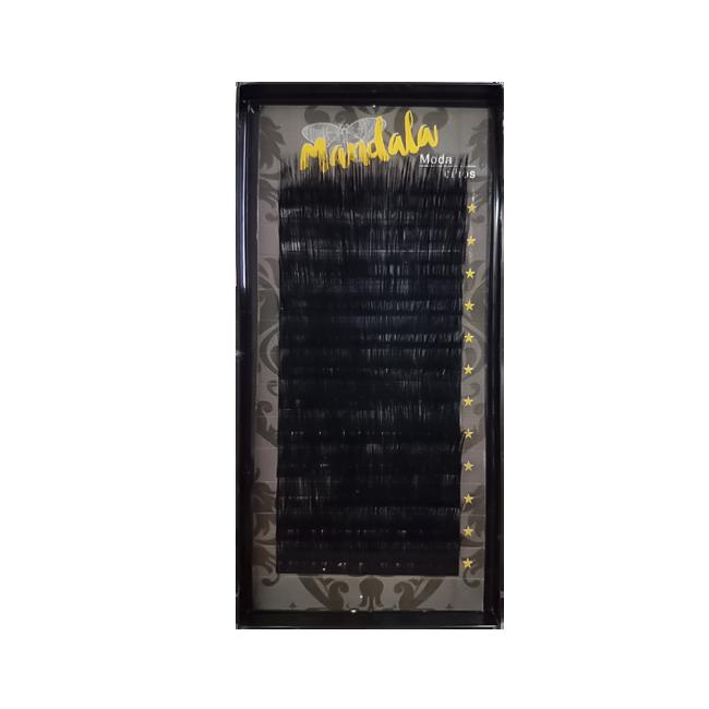 Cílios Fio A Fio Mandala Curvatura D 0.07 15 Mm