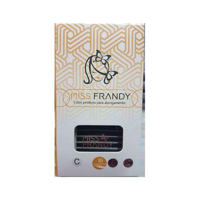 Cílios Miss Frandy Fio A Fio Curvatura C 0.15 10mm