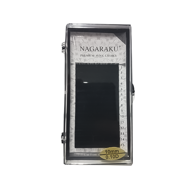 Cílios Nagaraku Fio a Fio  0.10D 10 mm
