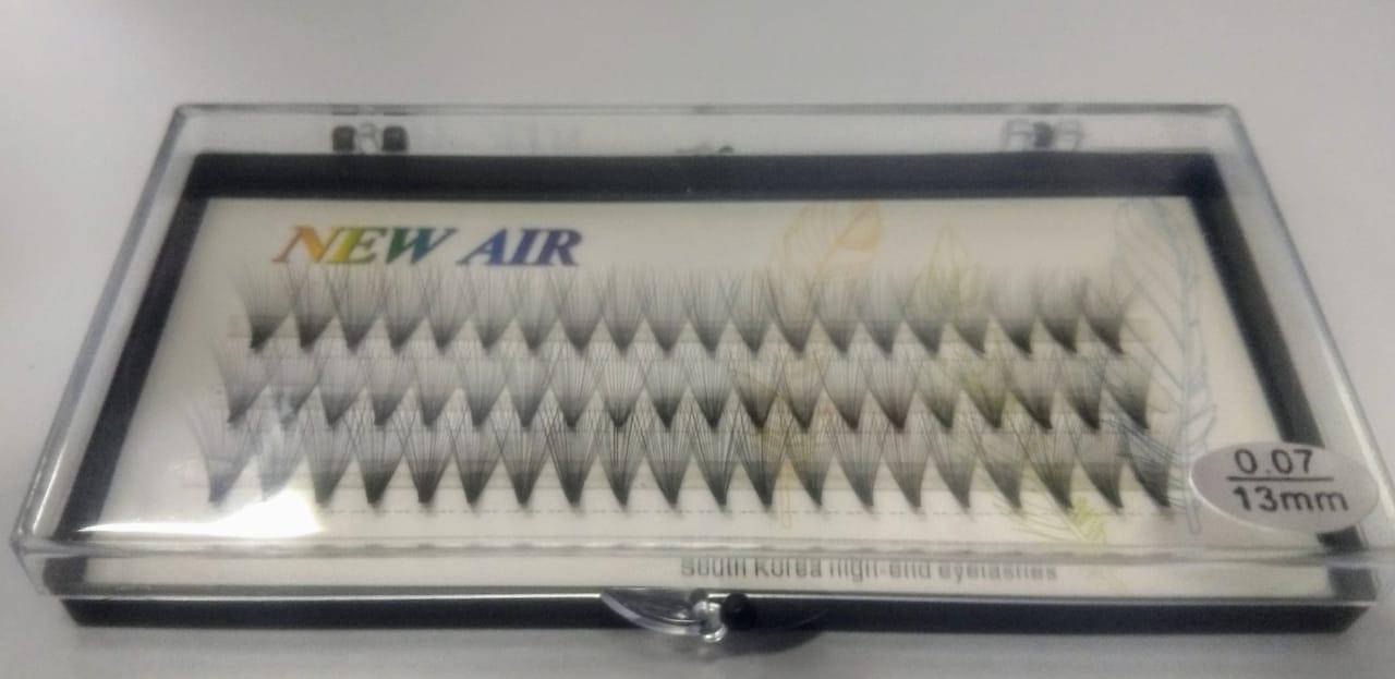Cílios Postiços Tufos Tufinhos New Air 13mm
