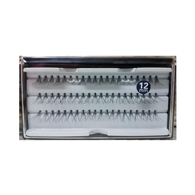 Cílios Tufos 12 mm com 60 Tufos