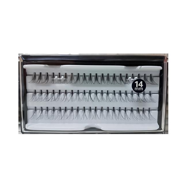 Cílios Tufos 14 mm com 60 Tufos