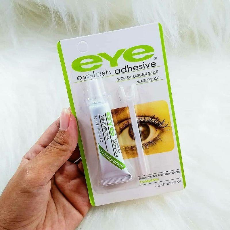 Cola para Cílios Portiços Transparente a Prova D'Agua Eye Eyelash Adhesive 7g