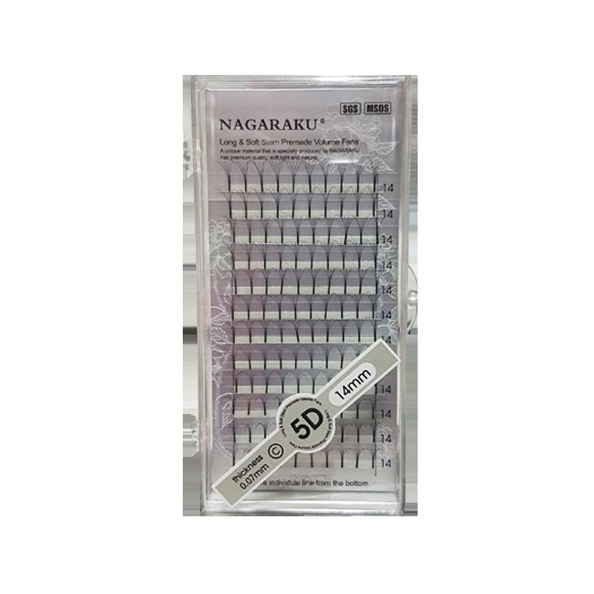Cílios Tufo Nagaraku 5 D Volume Russo 14 mm