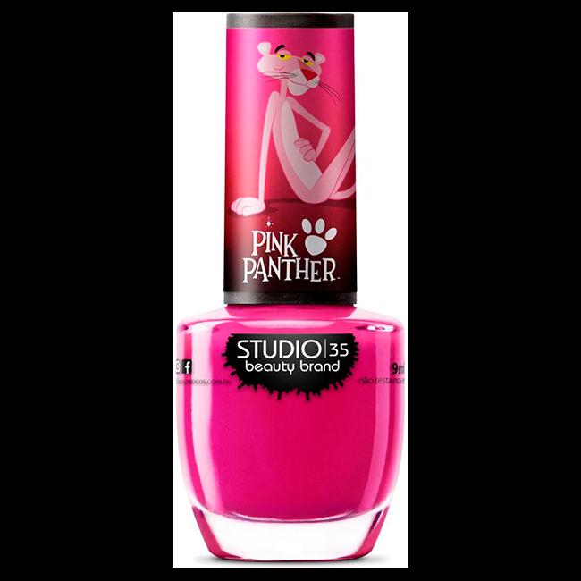 Esmalte Studio 35 Pantera Misteriosa Coleção Pink Panther 9 ml