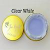 Clear White Fan Nails