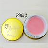 Pink 3 Fan Nails