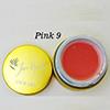 Pink 9 Fan Nails