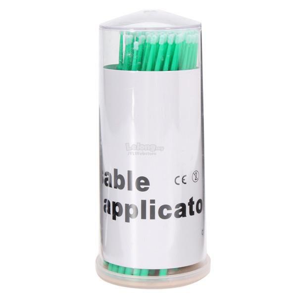 Cotonete bastonete microbrush com 50 unidades