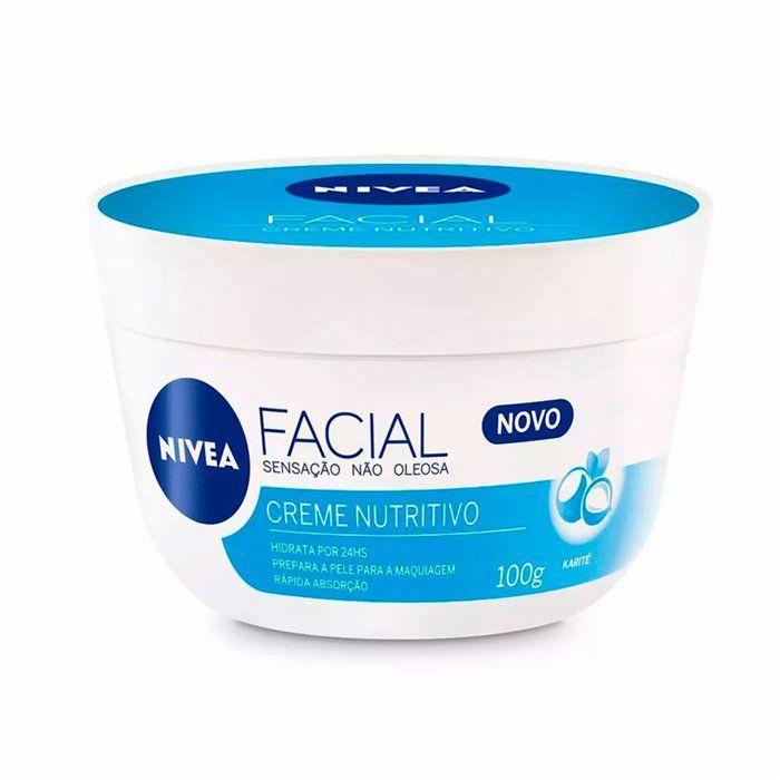 Creme Facial Nivea Nutritivo Nivea 100g