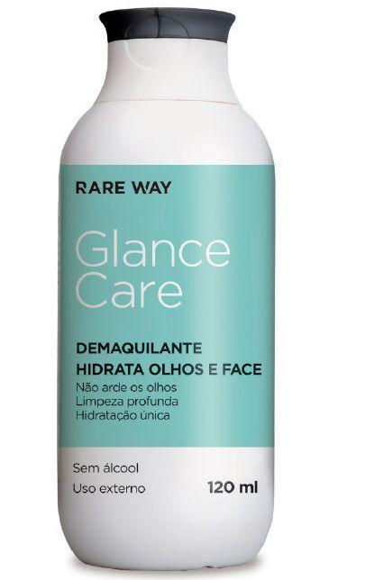 DEMAQUILANTE HIDRATANTE GLANCE CARE 120ml