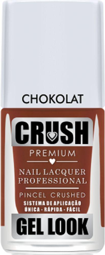 Esmalte Crush Chokolat Efeito Gel Look
