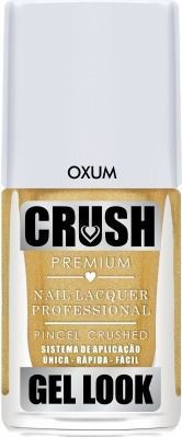 Esmalte Crush Efeito Gel Look Oxum